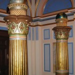 Masonic Pillars Boaz and Jachin